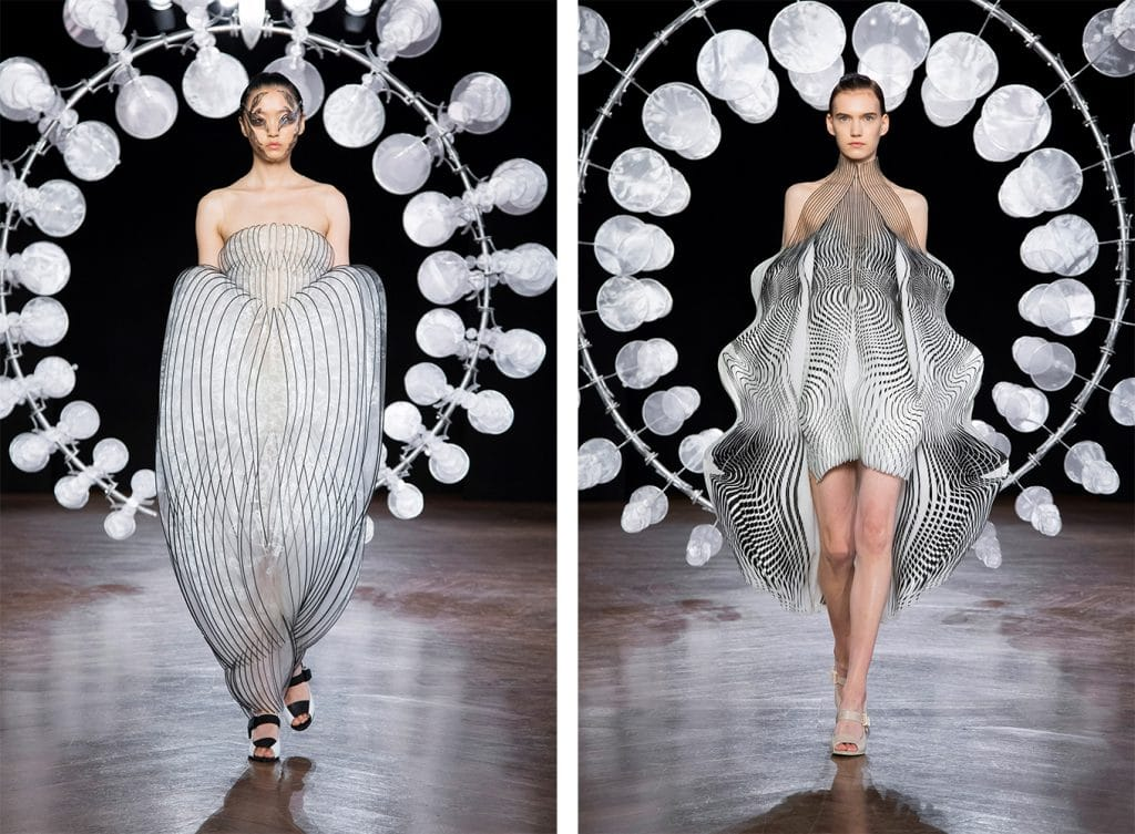 Iris van Herpen creates a state of hypnosis with her latest