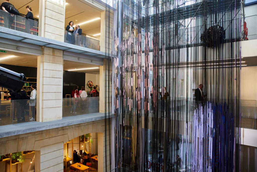 Hella Jongerius, Lafayette Anticipations, Galeries Lafayette, Entrelacs