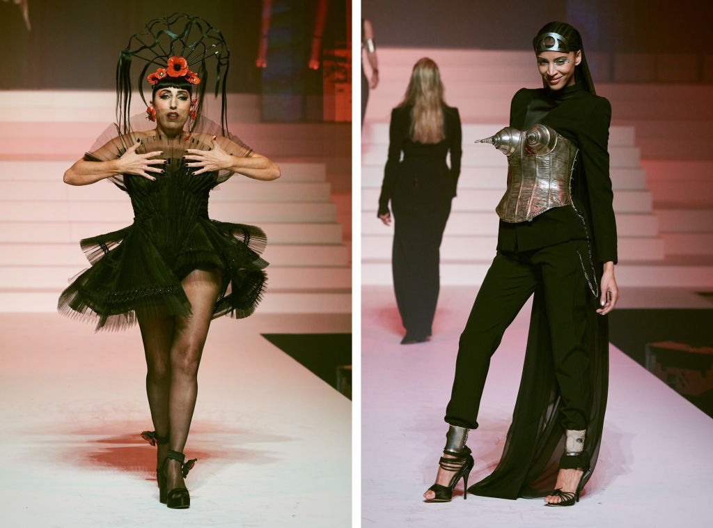 Jean Paul Gaultier, Fashion Week, 50 ans, Upcycling