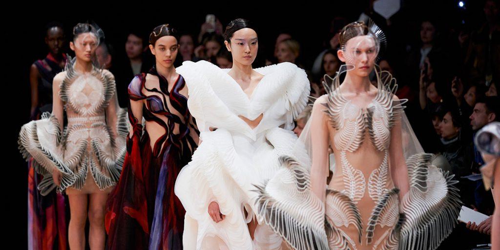 Fashion Week Haut Couture, Valentino, Chanel, Givenchy, Dior, Giambattista Valli, Iris Van Herpen, Schiaparelli, Elie Saab, Zuhair Murad, August Getty Atelier