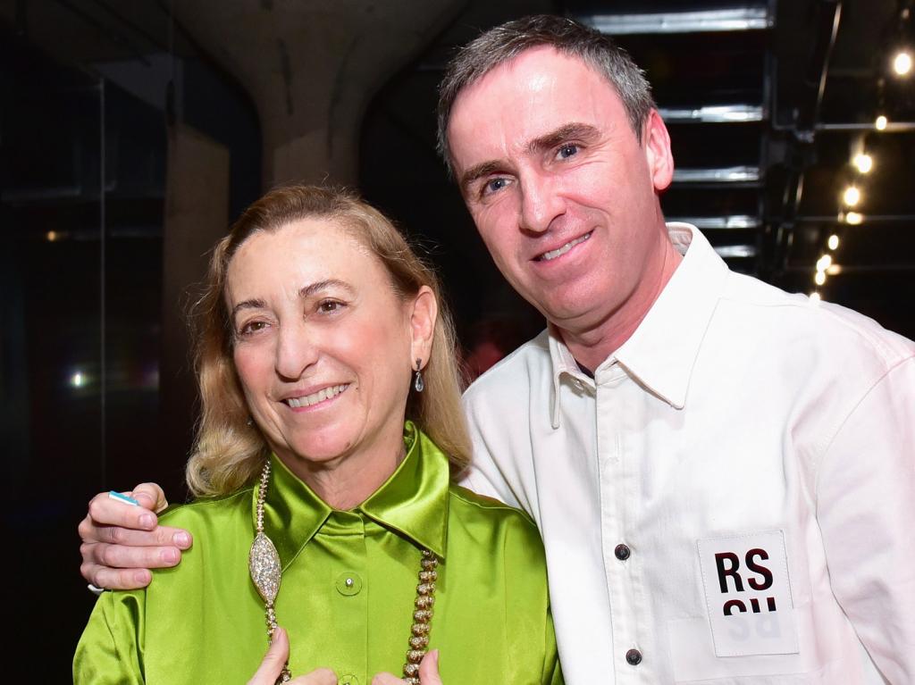 Raf Simons, Miuccia Prada, Prada