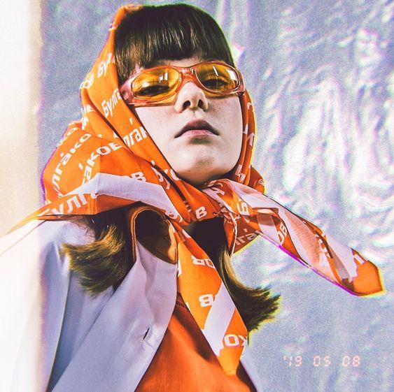 Accessoires, printemps, été, 2020, Accessories, Spring, summer, bucket bag, babushka scarf, col détachable, gros collier, colorful glasses